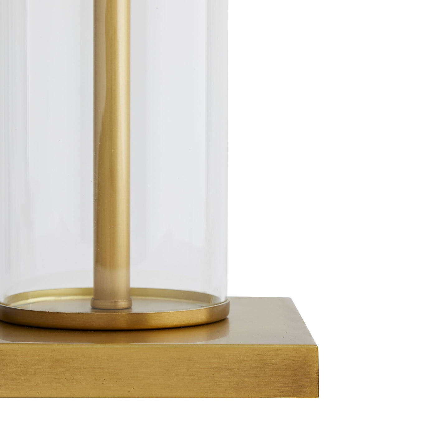 arteriors norman lamp antique brass base