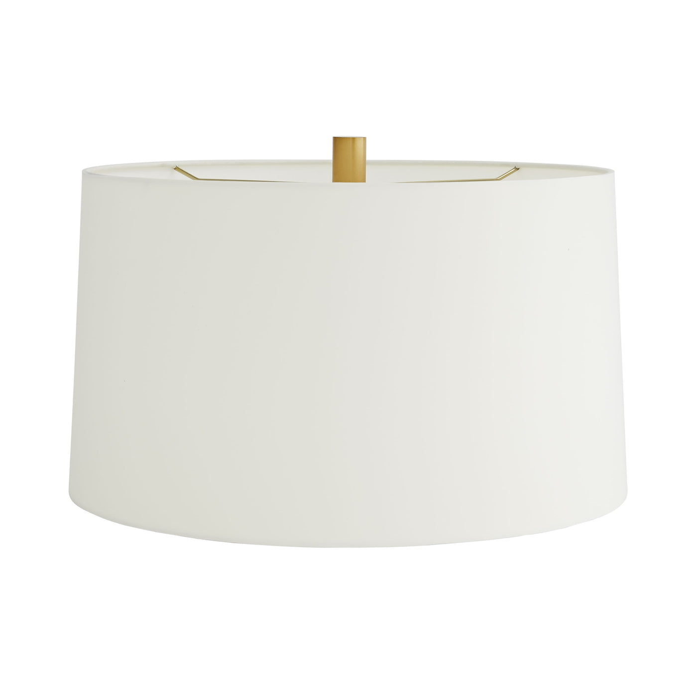 arteriors norman lamp antique brass shade