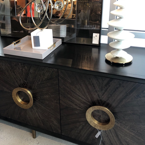 arteriors normandy credenza door handles showroom
