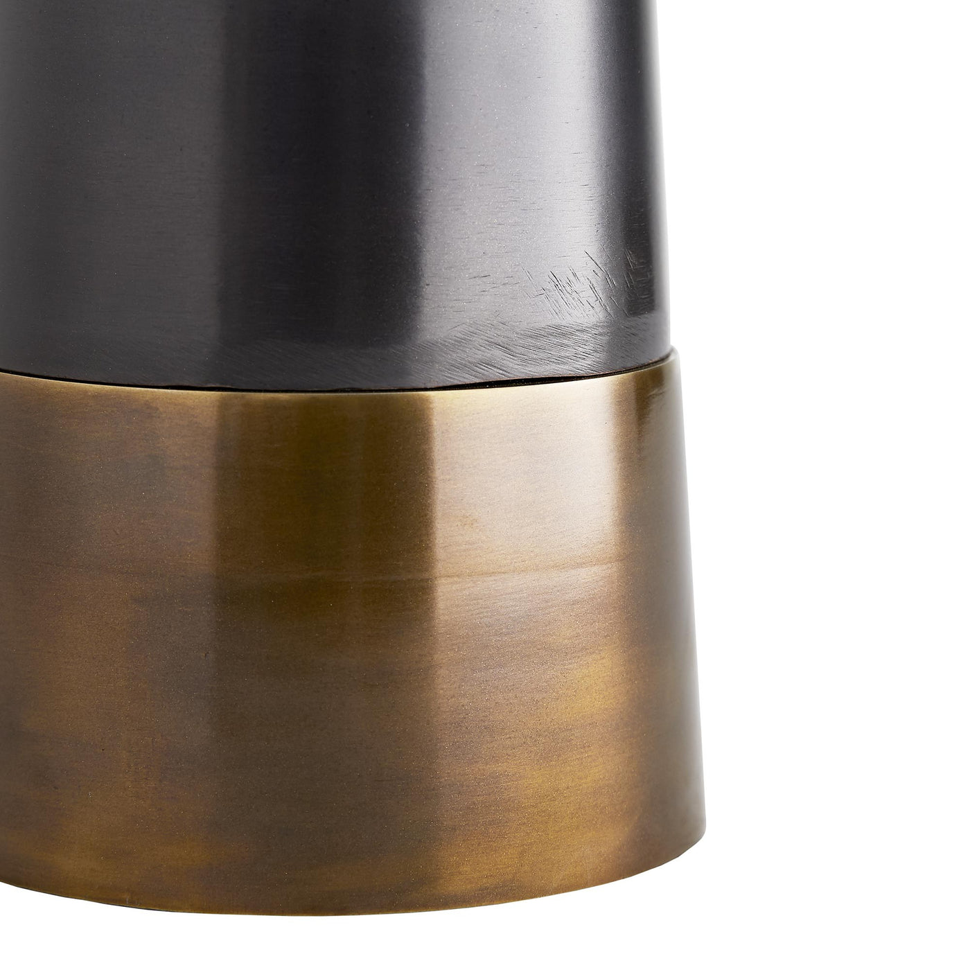arteriors home Pablo lamp base with brass band