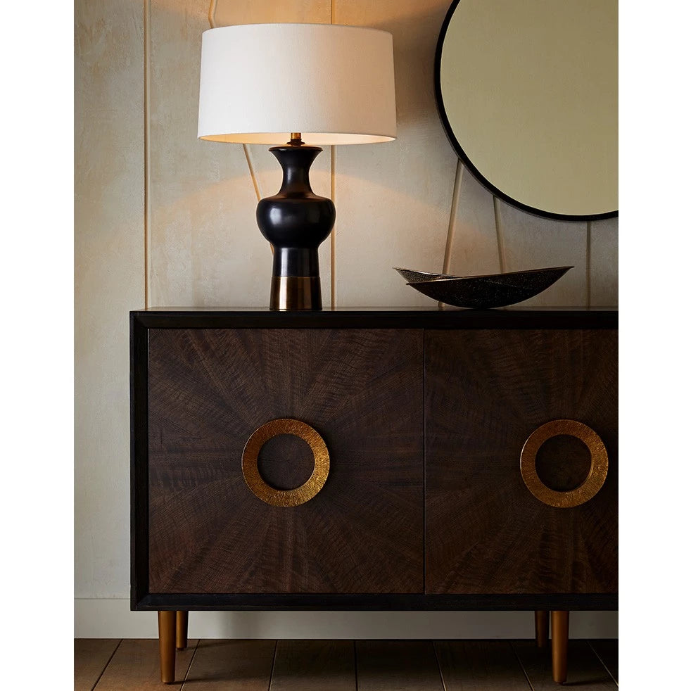 arteriors home Pablo lamp buffet light dining room