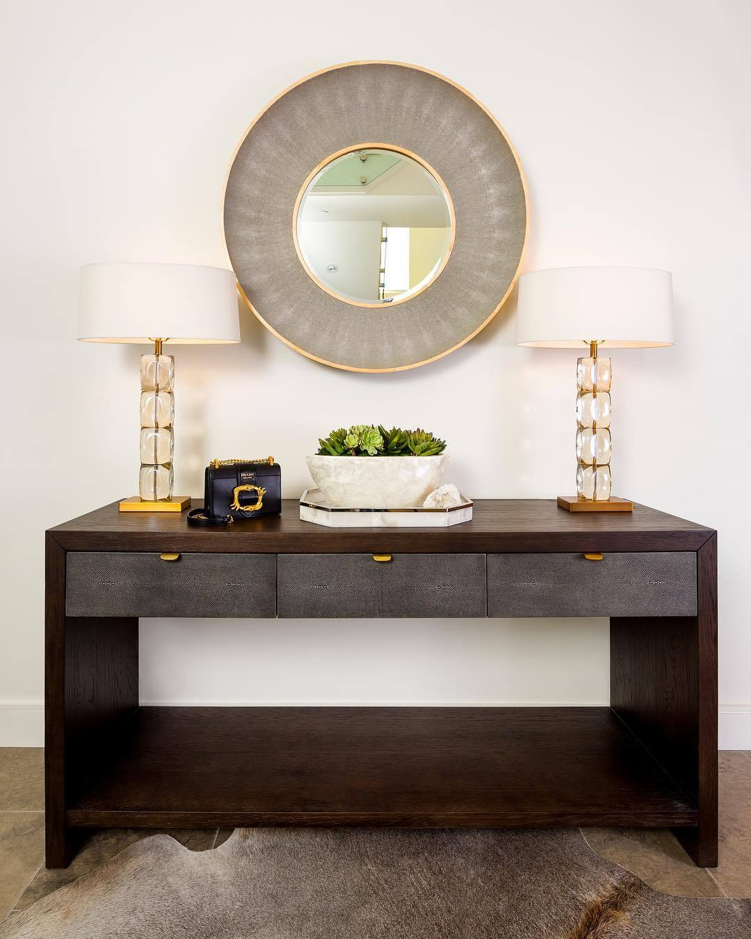 arteriors philomena table lamp glass