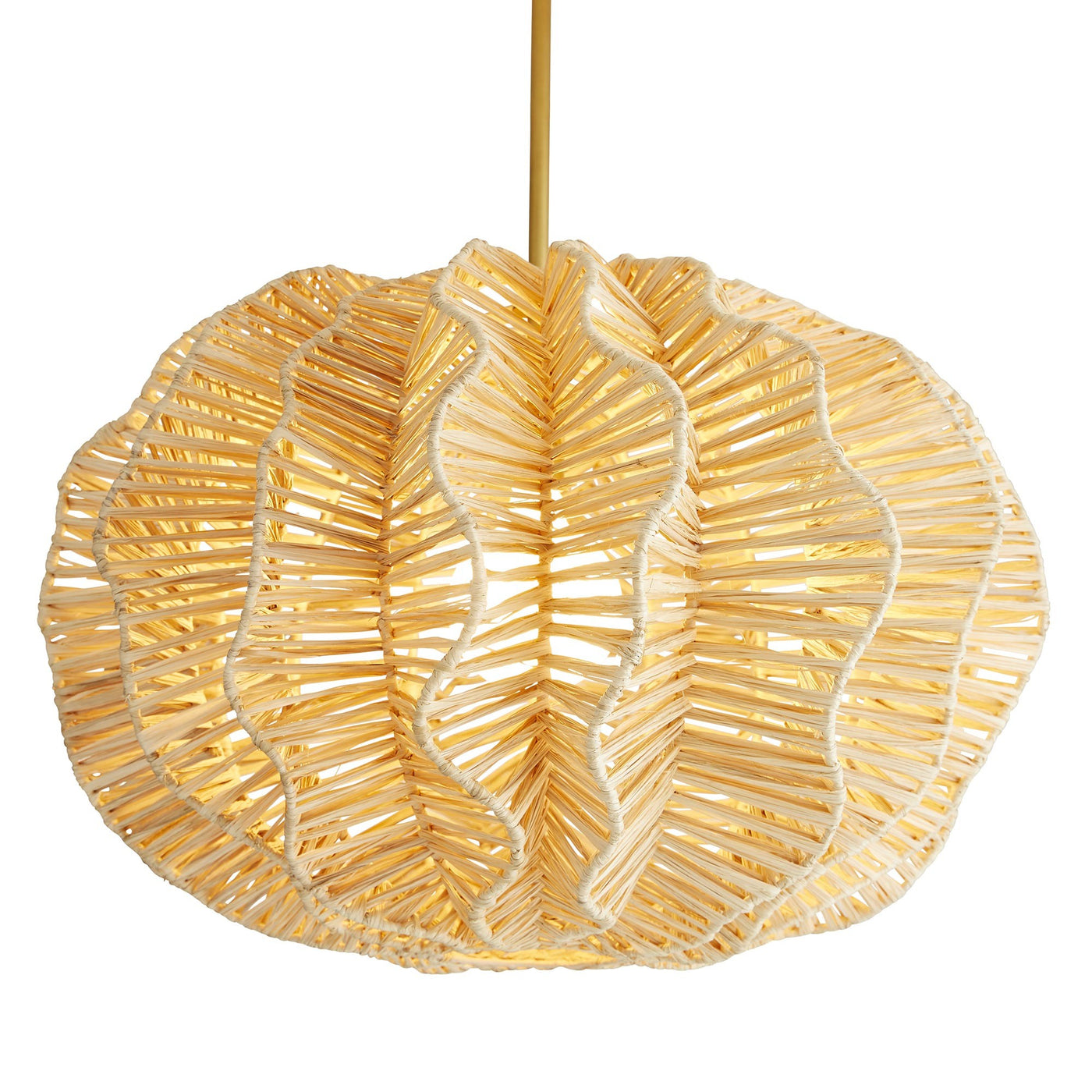 arteriors home pismo pendant light on