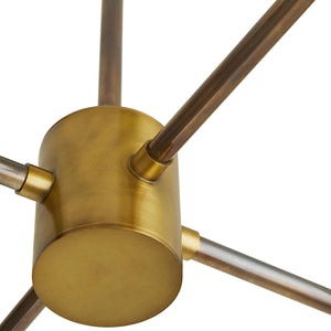 arteriors remington base antique brass
