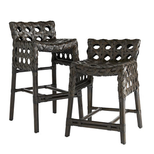 arteriors richmond counter bar stool espresso