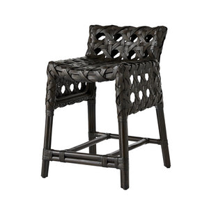 arteriors richmond counter stool espresso