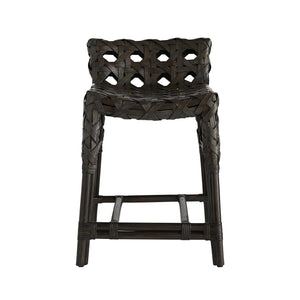 arteriors richmond counter stool front view