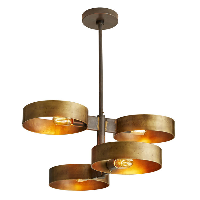 arteriors rocco pendant light on