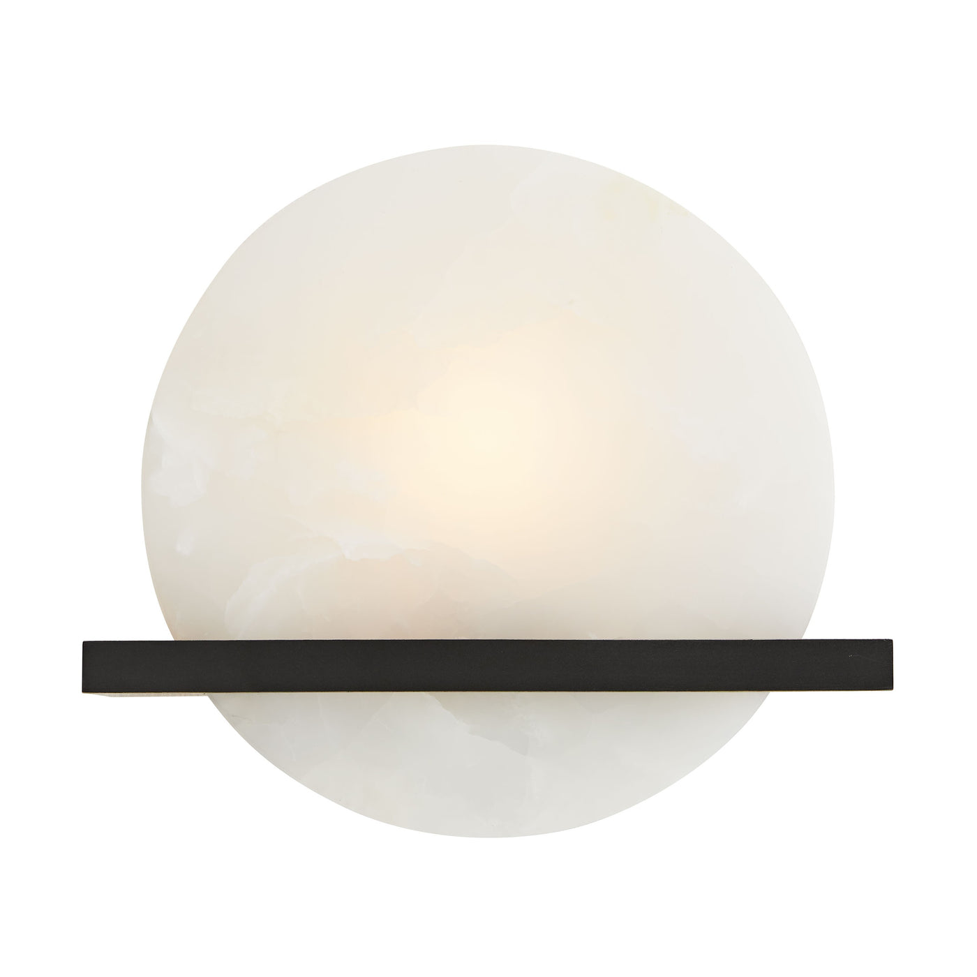 arteriors savion sconce bronze illuminated