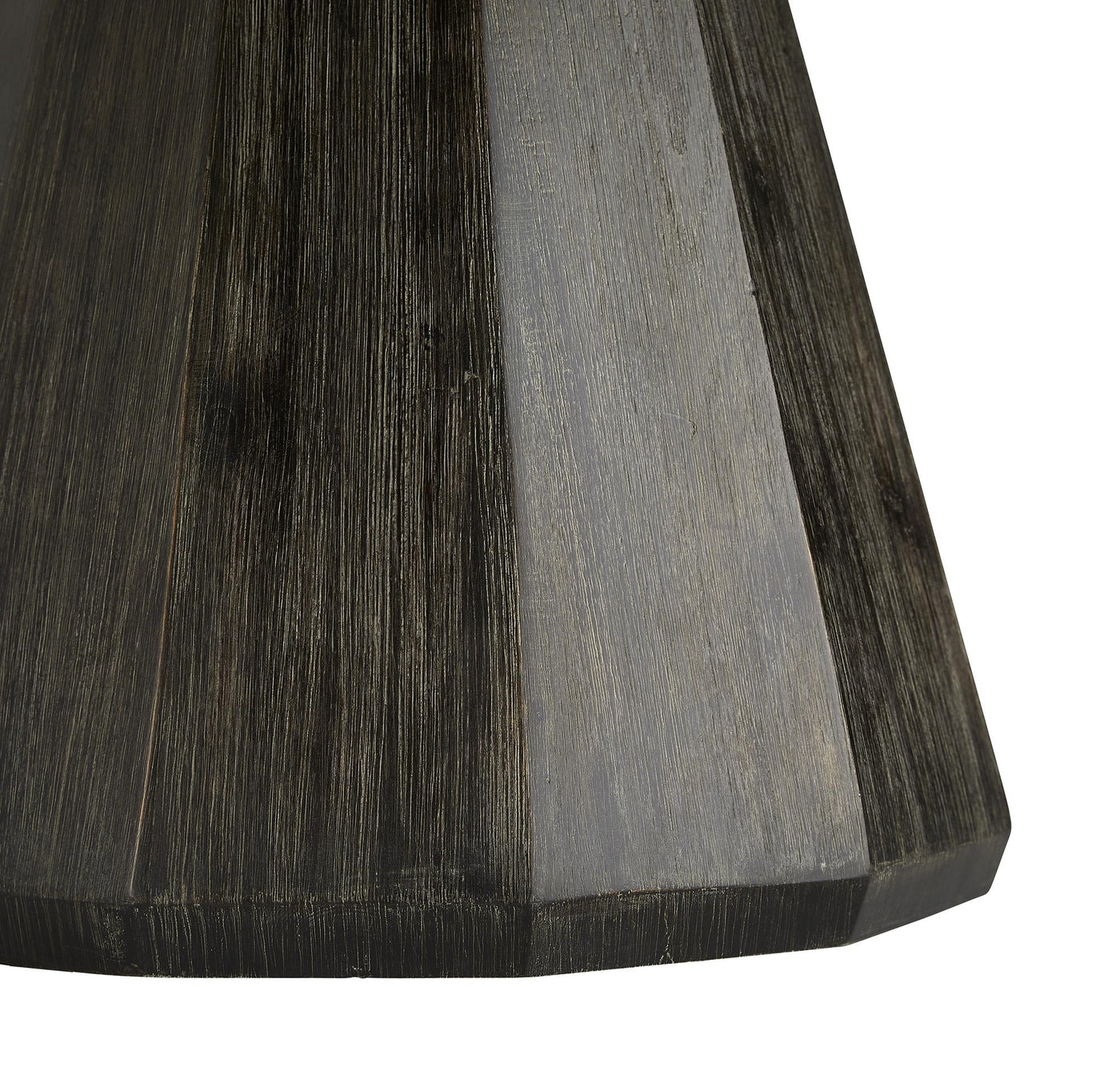 arteriors serene table base wood