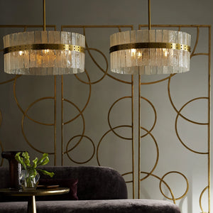 arteriors sinclair chandelier dining room