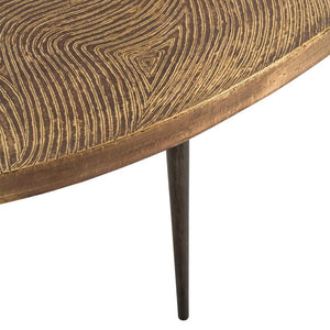 arteriors sloan cocktail table leg