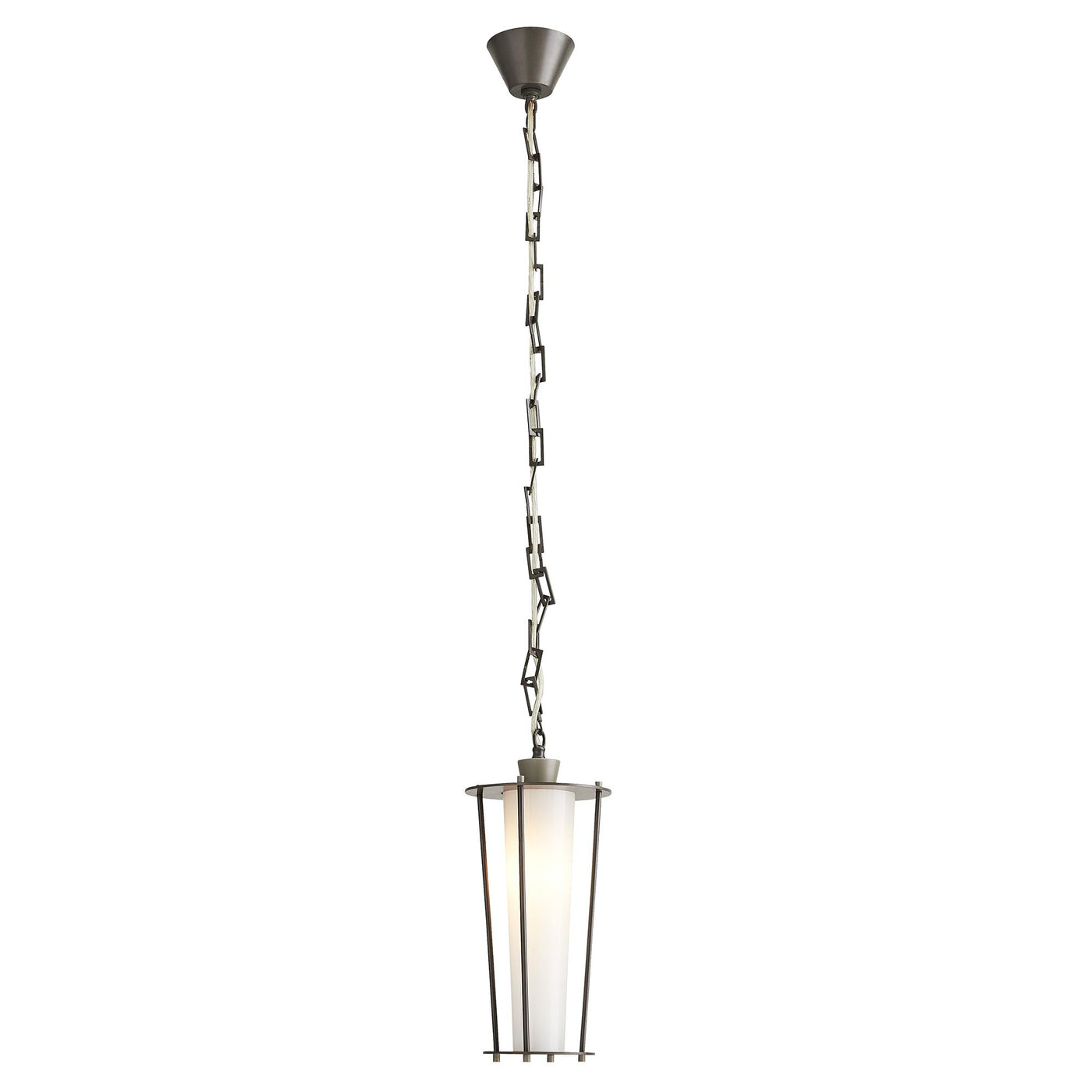 arteriors sorel pendant iron full view illuminated