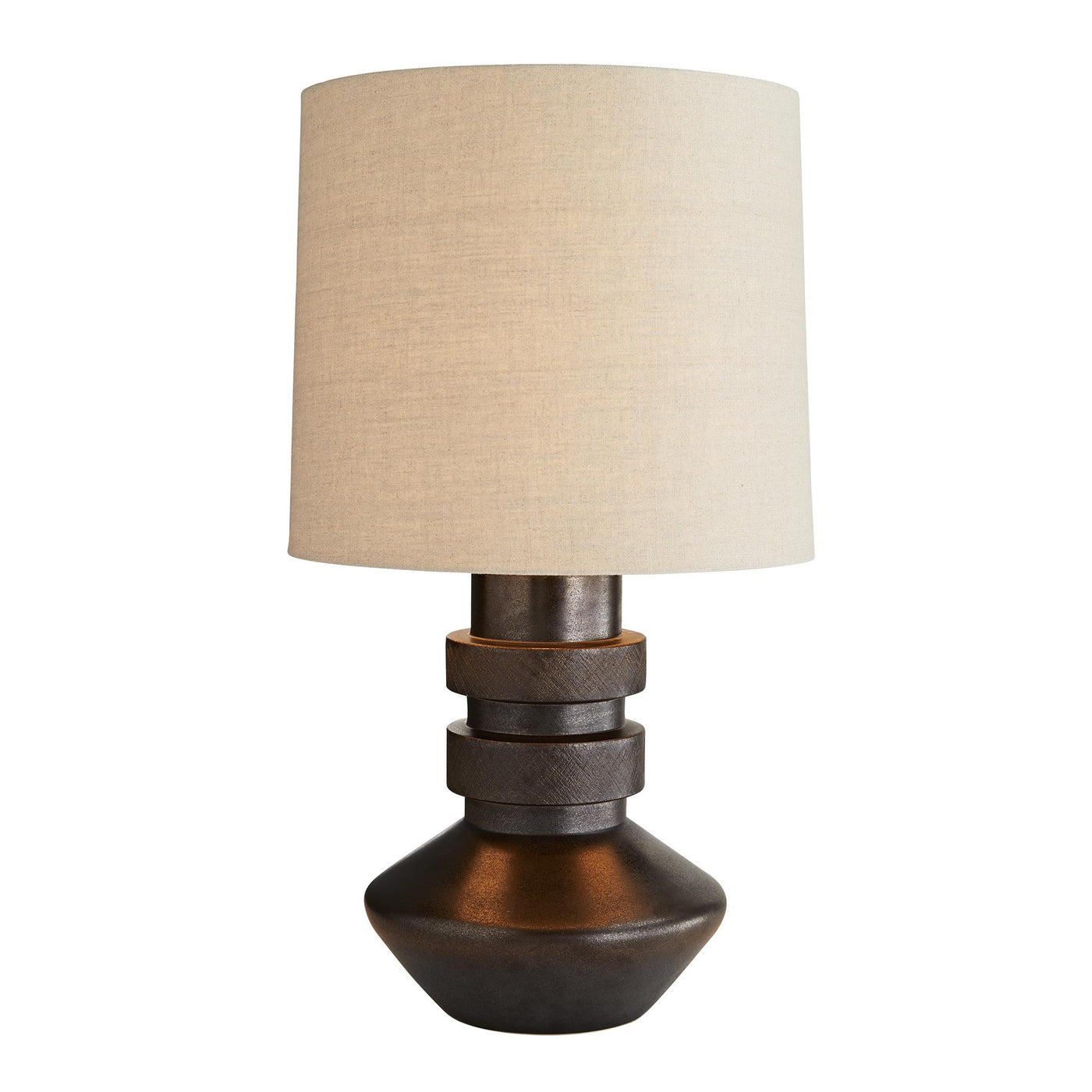 arteriors Spencer lamp light on