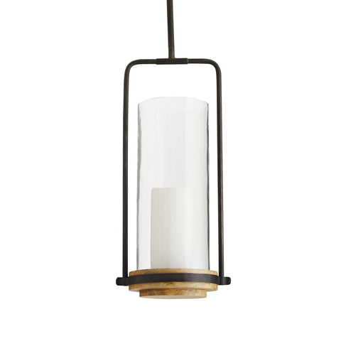arteriors sumter candle pendant