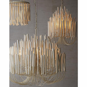 arteriors tilda chandelier pendant lighting white
