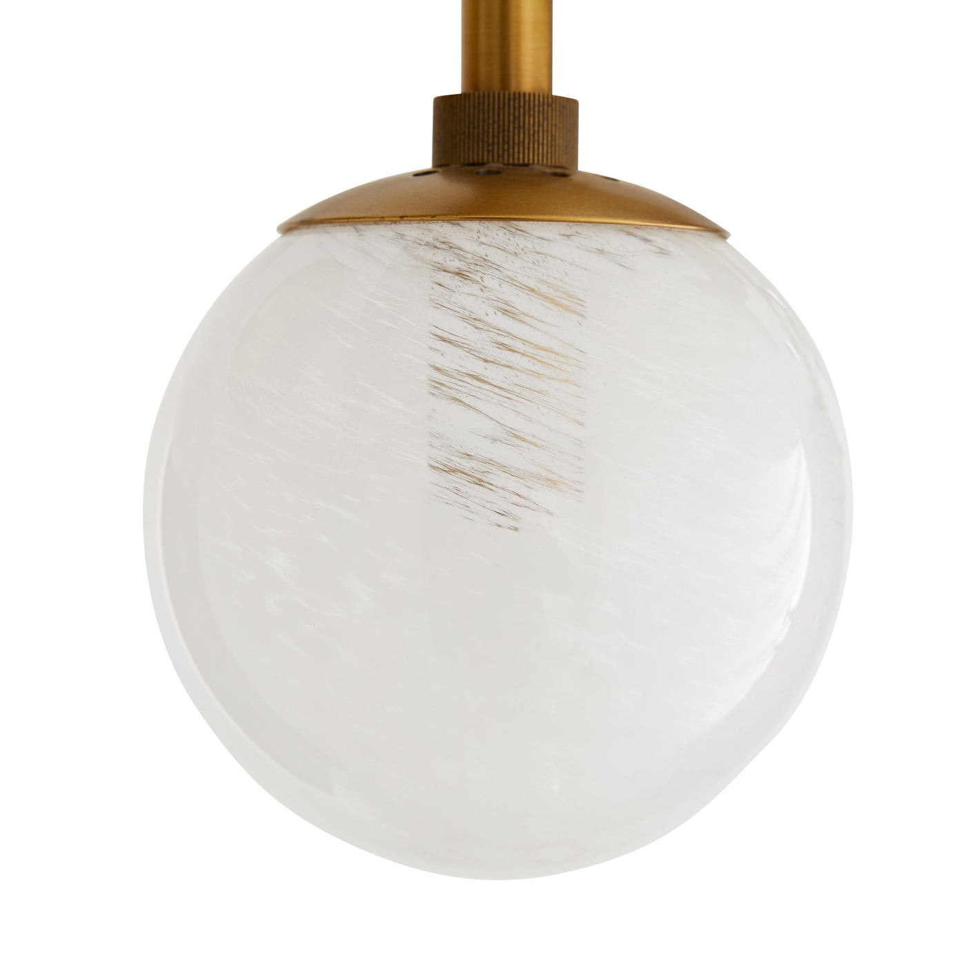 arteriors troon chandelier antique brass bulb