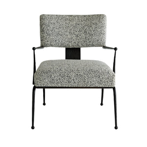 arteriors wallace chair pitch texture
