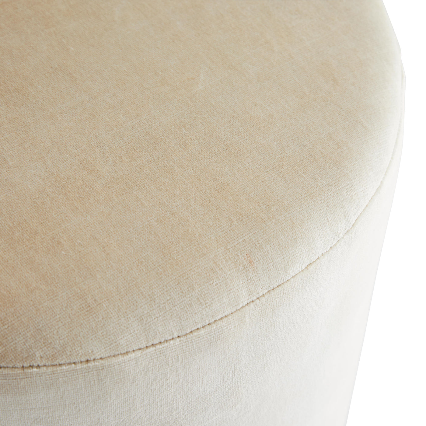 arteriors warby ottoman  side