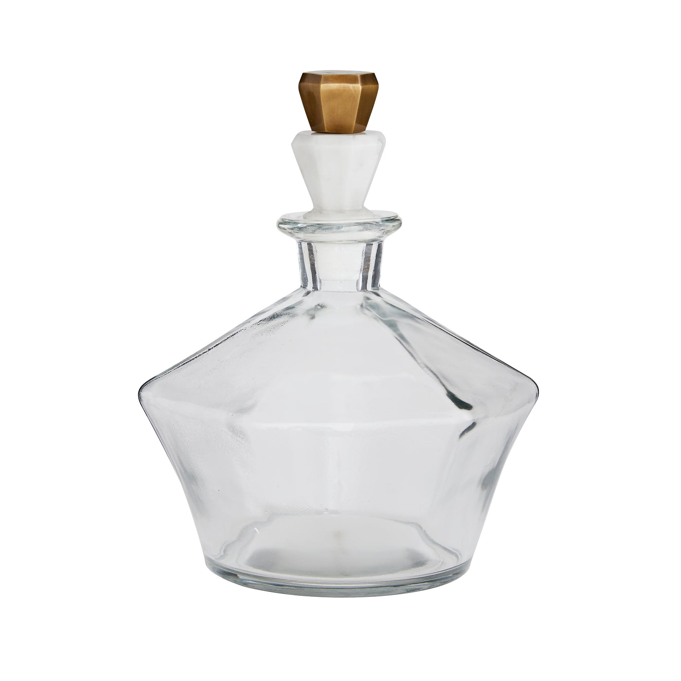 arteriors home Wilshire glass decanter glass