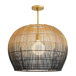 arteriors home swami small pendant illuminated
