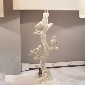 made goods avery lamp table lamp birds perched in tree table lamp for living room bed side table lamp market