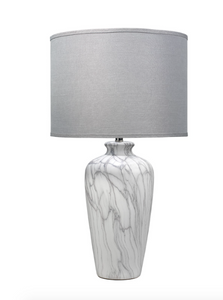 Jamie Young Bedrock Table Lamp Lighting Marble Ceramic