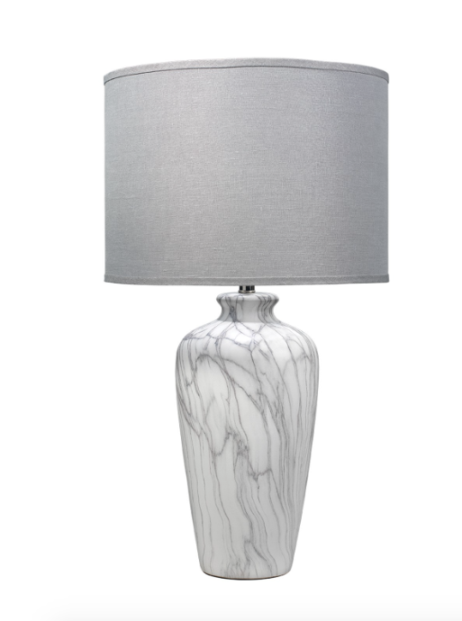 Jamie Young Bedrock Table Lamp - Bedrock marble dining table