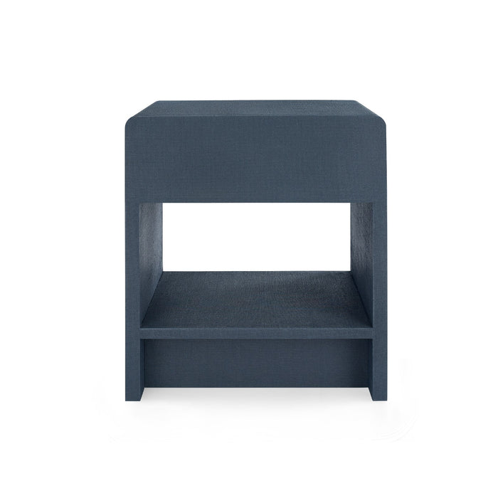 bungalow 5 benjamin side table navy blue back views
