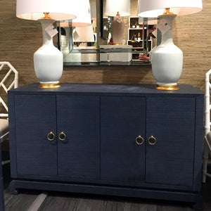 bungalow 5 meredith 4 door cabinet navy blue