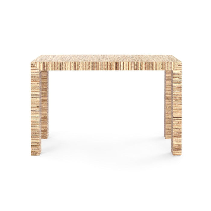 four hands parsons console table natural