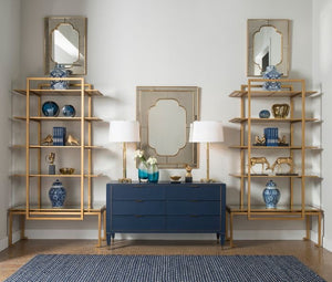 bungalow 5 anton etagere gold styled