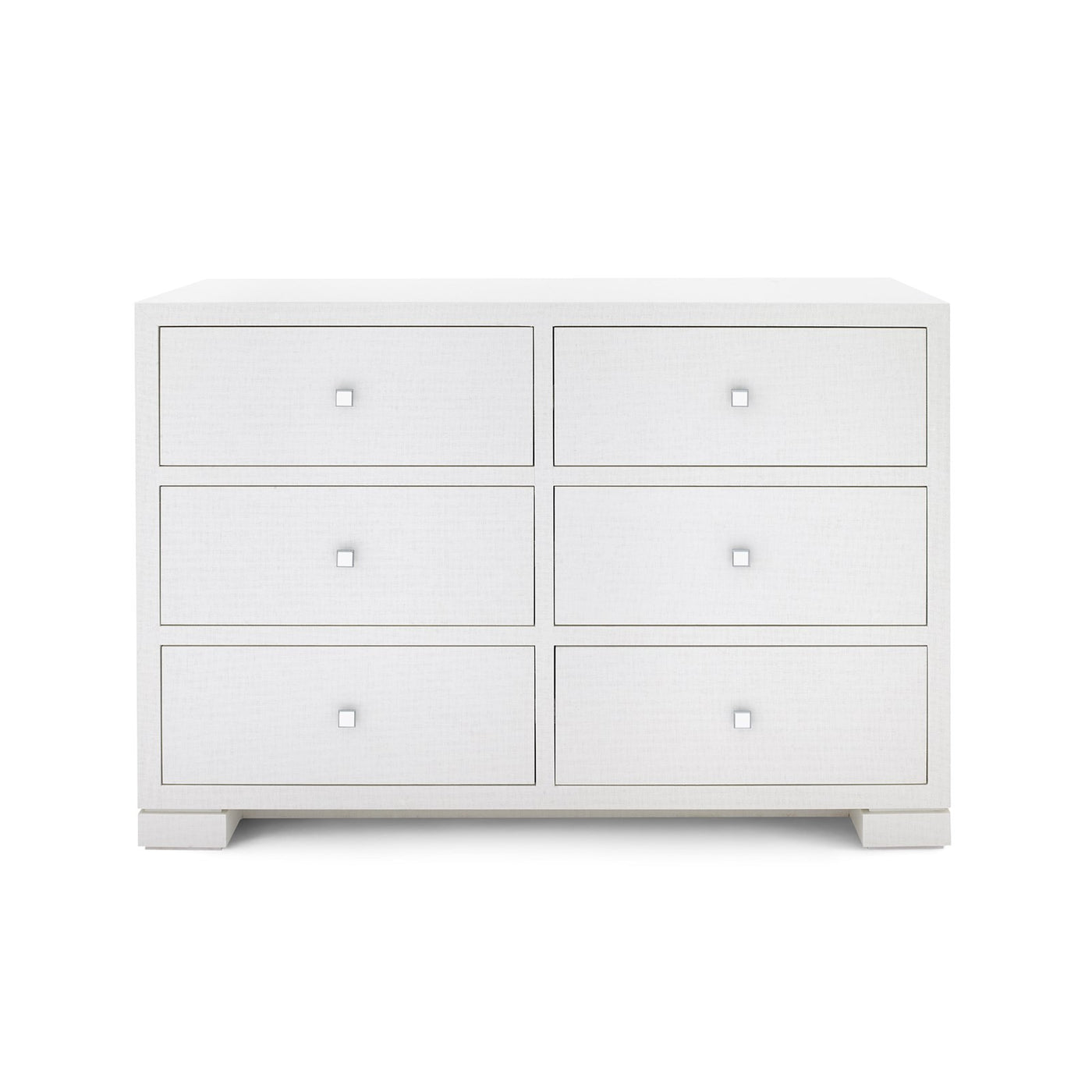 Bungalow 5 Frances Extra Large 6 Drawer Chest White FRA-250