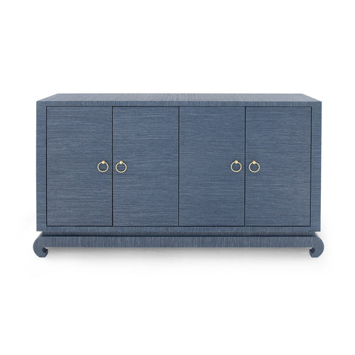 Bungalow 5 Meredith 4 Door Cabinet Blue