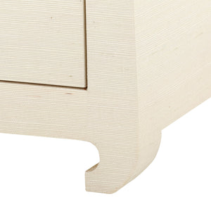 bungalow 5 ming 2 drawer side table nightstand natural