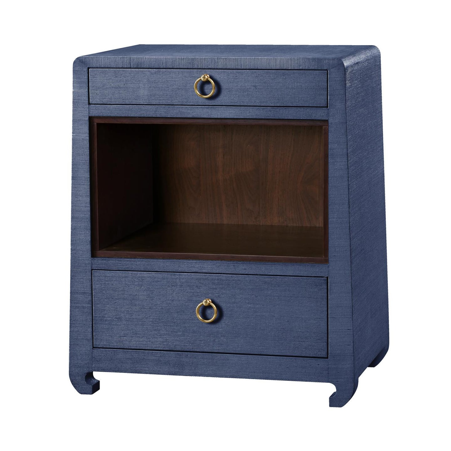 Bungalow 5 Ming 2 Drawer Side Table Navy Blue – CLAYTON GRAY HOME