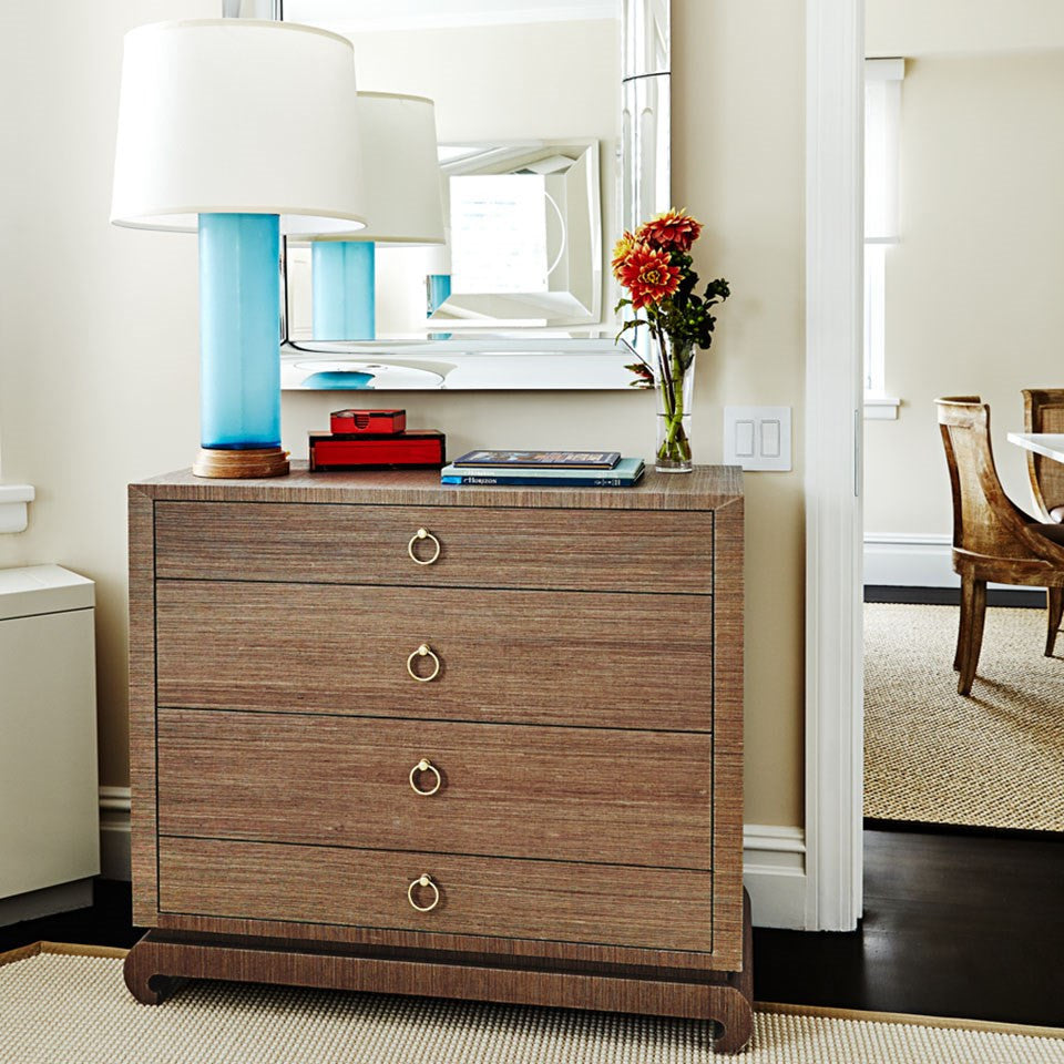 Bungalow 5 Ming Large 4 Drawer Chest Brown Room View