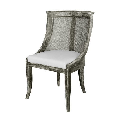 Bungalow 5 Monaco Arm Chair Gray MON-555-96 chair, chairs, office chair, accent chair, dining room chair, dining room chairs, dining chairs, dining chair, office chair, desk chair, desk chairs, accent chairs, living room chair, living room chairs, vanity chair, vanity chairs, contemporary chair, contemporary chairs