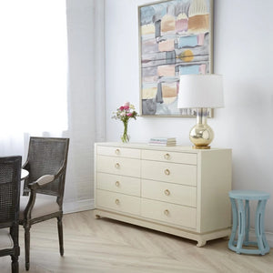 Bungalow 5 Ming Extra Large 8 Drawer Chest Natural Room View