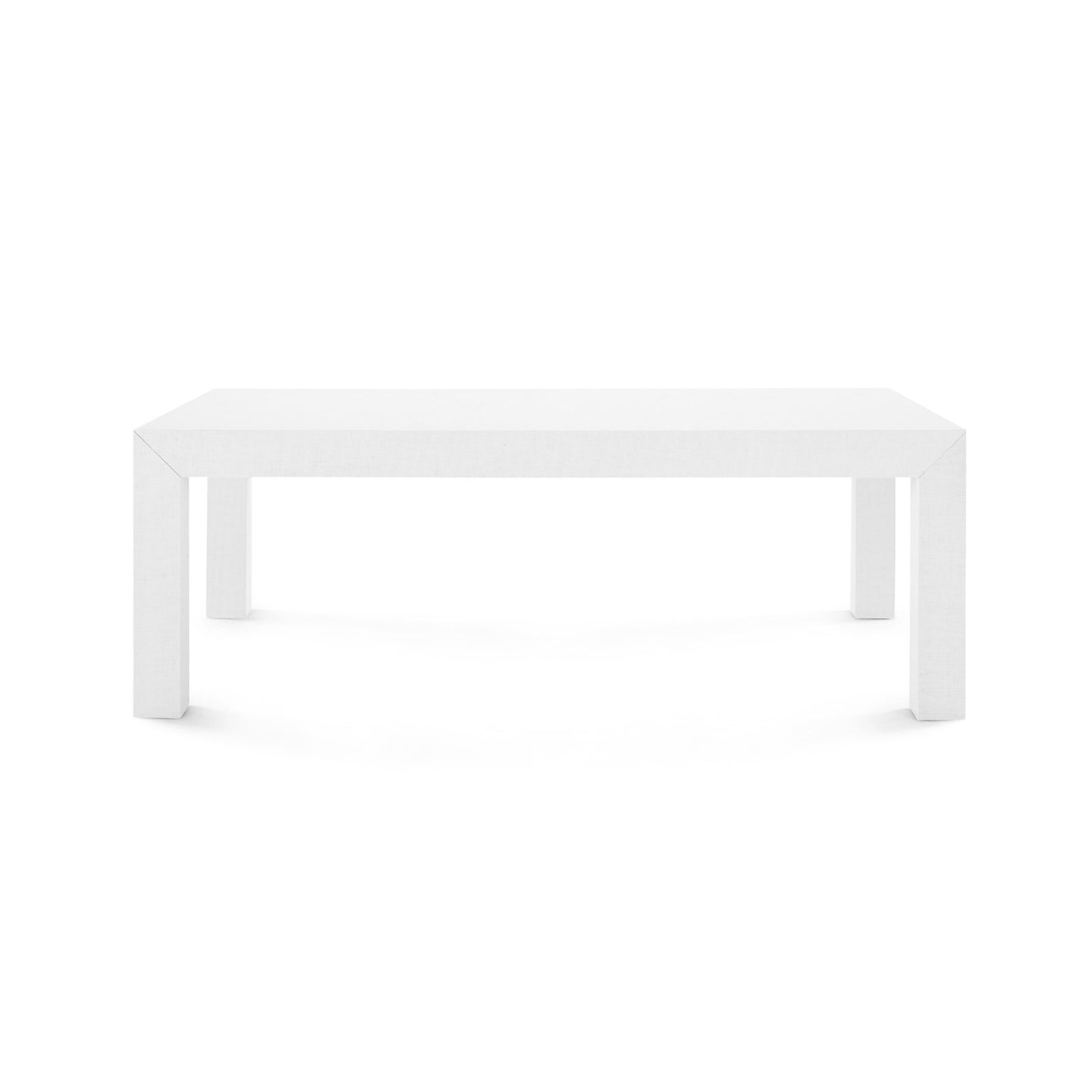 Bungalow 5 Parsons Coffee Table White PSN 300 59