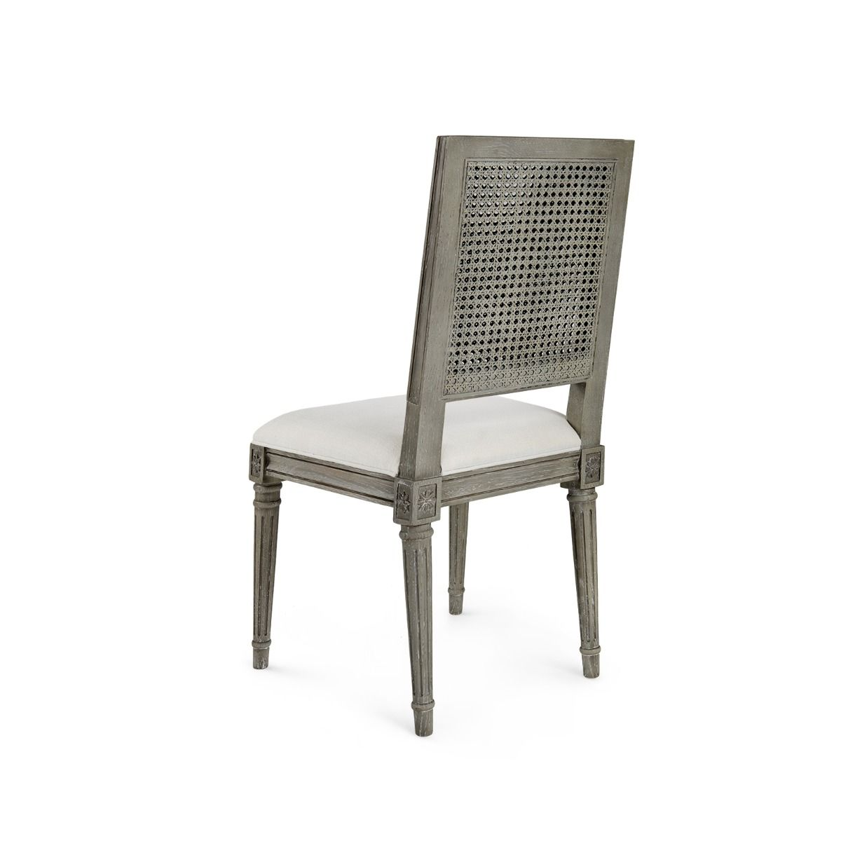 bungalow 5 annette chair shown in room grey back