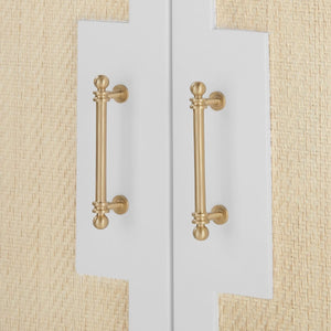 bungalow 5 astor cabinet white hardware