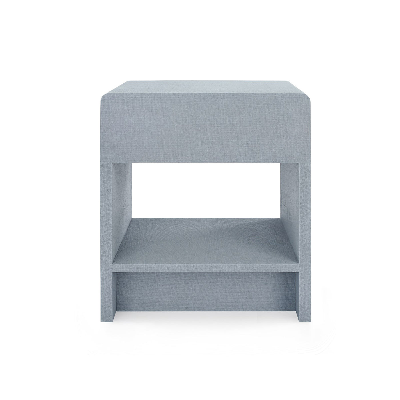 bungalow 5 benjamin linen 1 drawer side table gray back