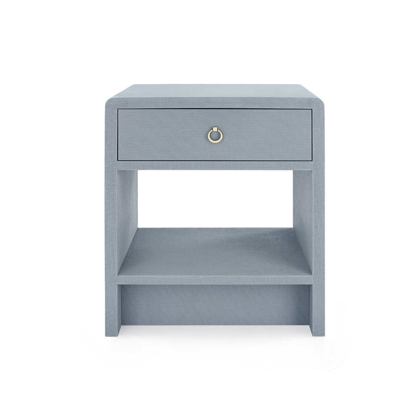 bungalow 5 benjamin linen 1 drawer side table gray