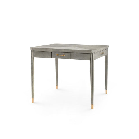bungalow 5 bertram game table grey angle