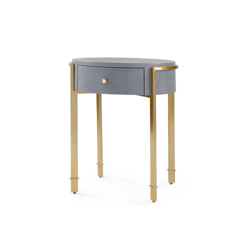 bungalow 5 bodrum side table gray
