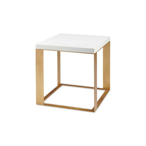 bungalow 5 calypso table white eggshell