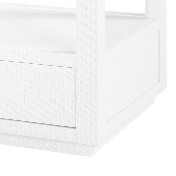 bungalow 5 camilla etagere white base