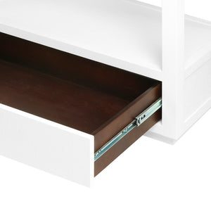 bungalow 5 camilla etagere white drawer