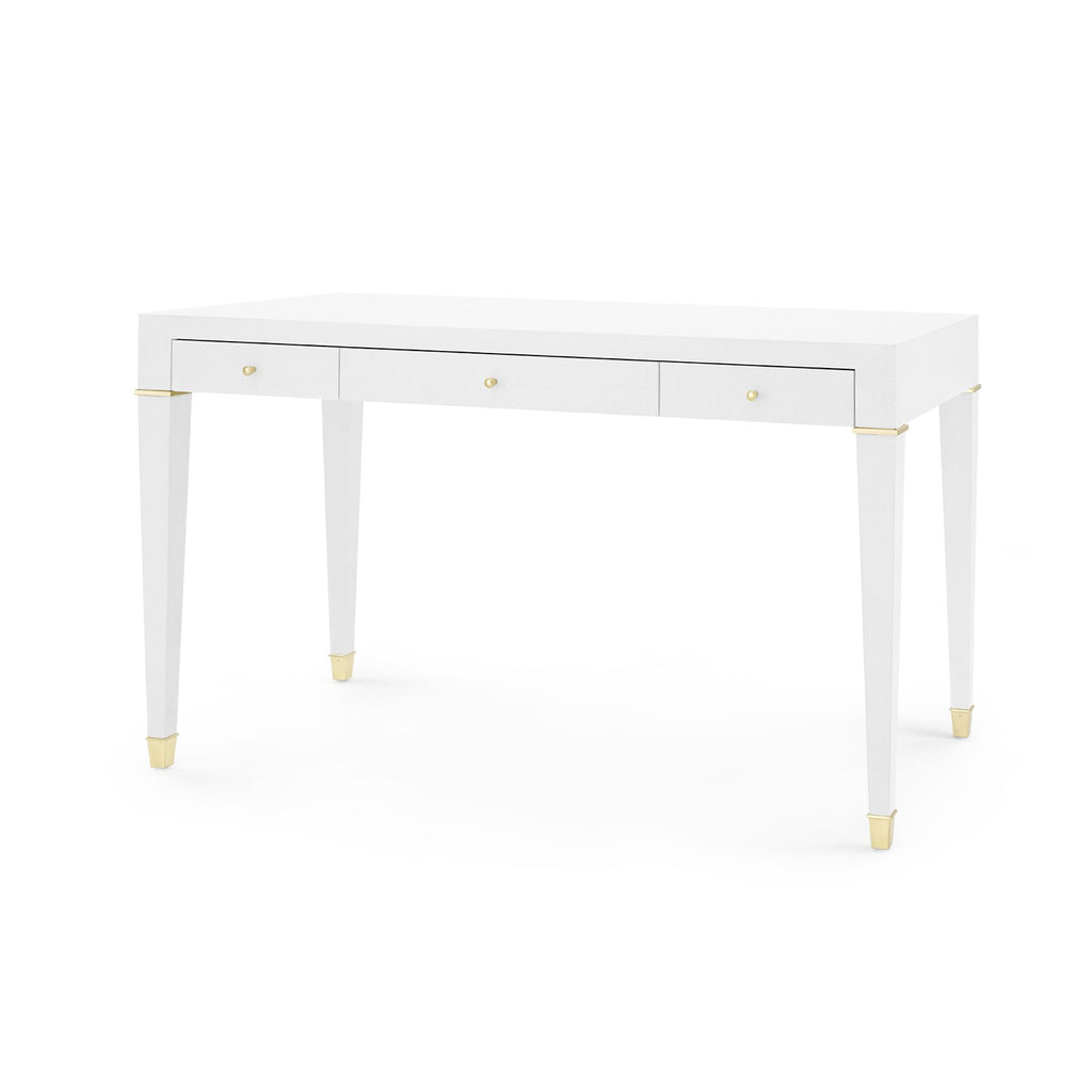 Bungalow 5 claudette desk white for Bungalow 5 desk